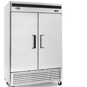 Stainless Reach-In Cooler & Freezers