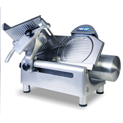 Kms 12 meat slicer gear drive 5 star restaurant equipment for Equipement resto pro