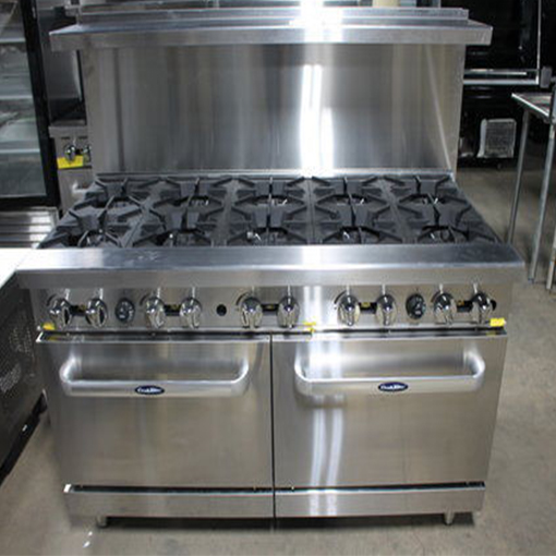 60in Range 10 Burners 2 Ovens Lp Or Nat Gas 5 Star