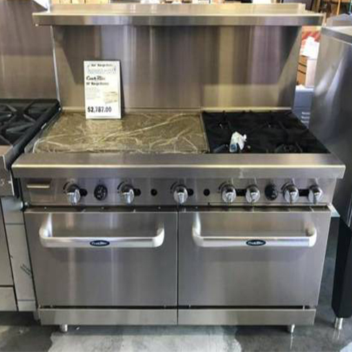 60in Range 36 Quot Griddle 4 Burners On Right 2 Ovens Lp Or