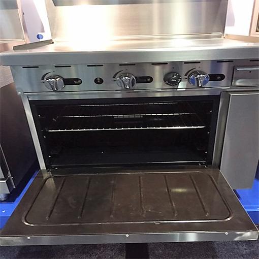 36in Griddle Range W Oven Lp Or Nat Gas 5 Star