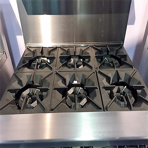 36in 6 Burner Range Full Oven Lp Or Nat Gas 5 Star