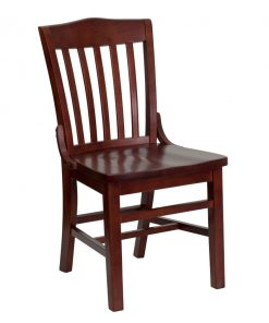Mahogany Wood Restaurant Chairs