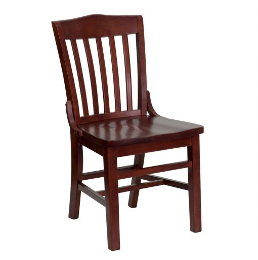 Mahogany Wood Restaurant Chairs