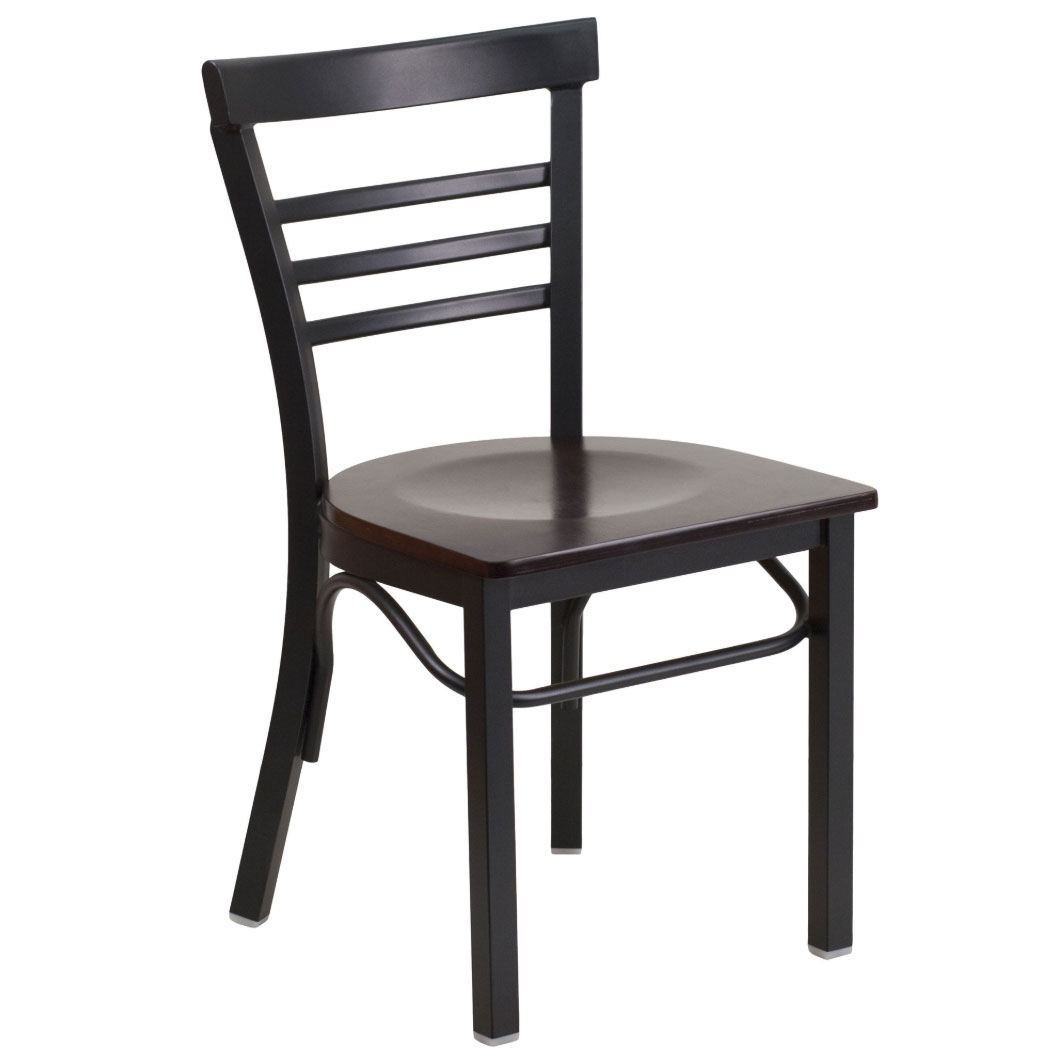 Attrayant Metal Ladder Back Restaurant Chairs